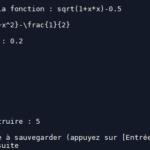 Construire le graphe d'une suite avec Python