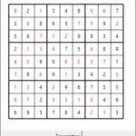 Générateur de grilles de Sudoku