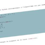 Extraire le code \(\LaTeX\) entre deux balises avec Python