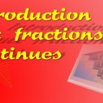 fractions continues