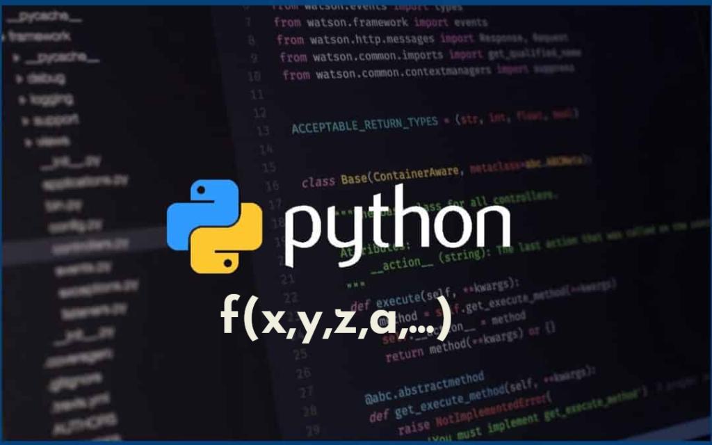fonction Python à un nombre variable d'arguments