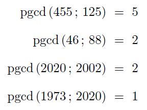Exemple d'utilisation de pythontex-tools sur les calculs de PGCD