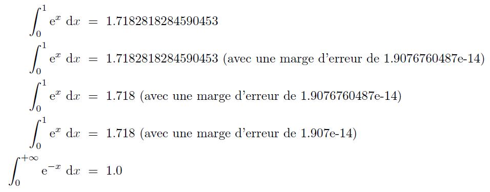 Exemple d'utilisation de pythontex-tools sur les intégrales