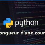 Calcul approché de longueur d'une portion de courbe en Python