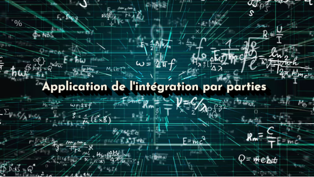 application intégration par parties