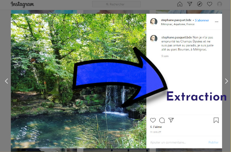 extraire image instagram python
