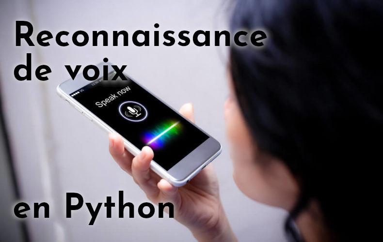reconnaissance de voix en Python