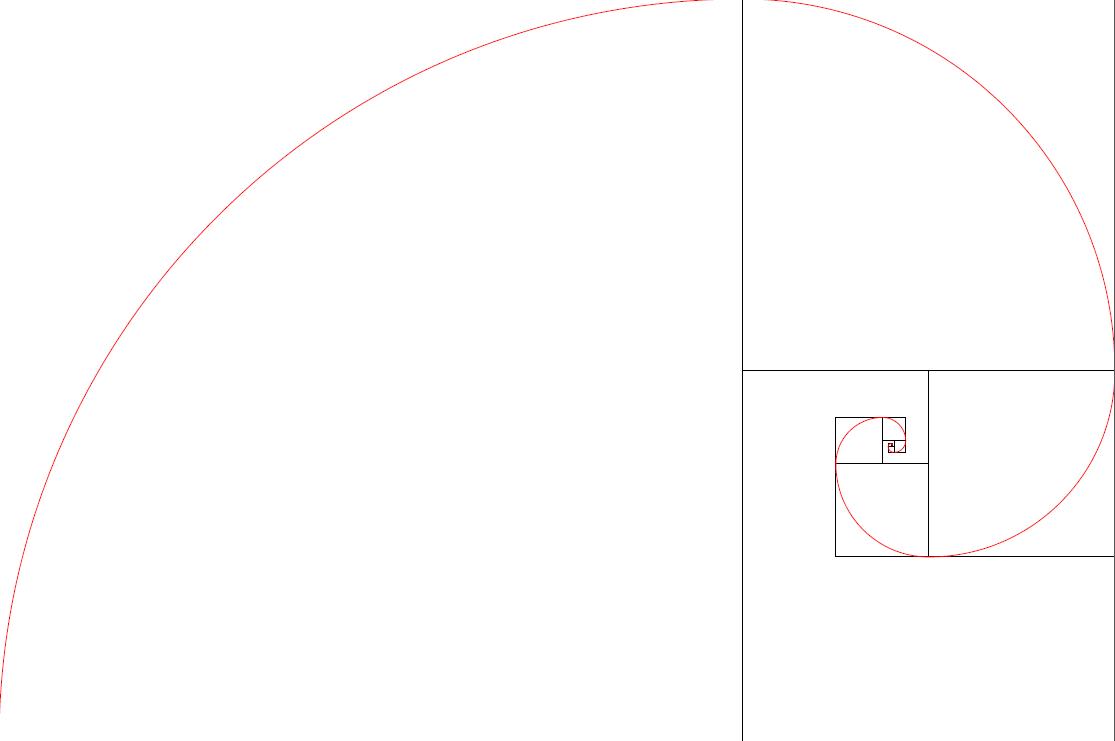 spirale carrés tikz python