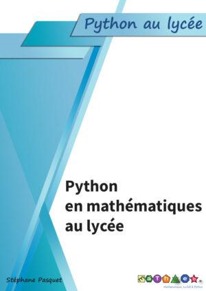 couverture python maths lycée