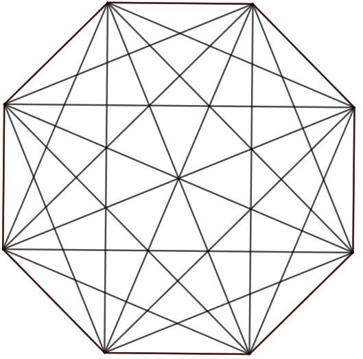 suite polygones réguliers octogone